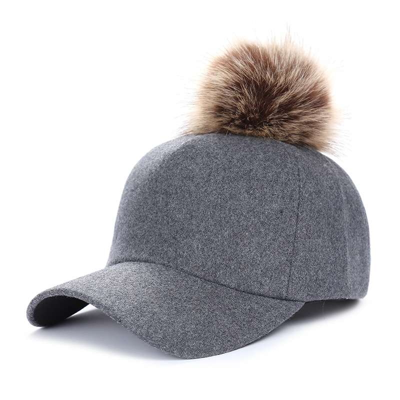 ladies fashion cap winter hat warm outdoor wear