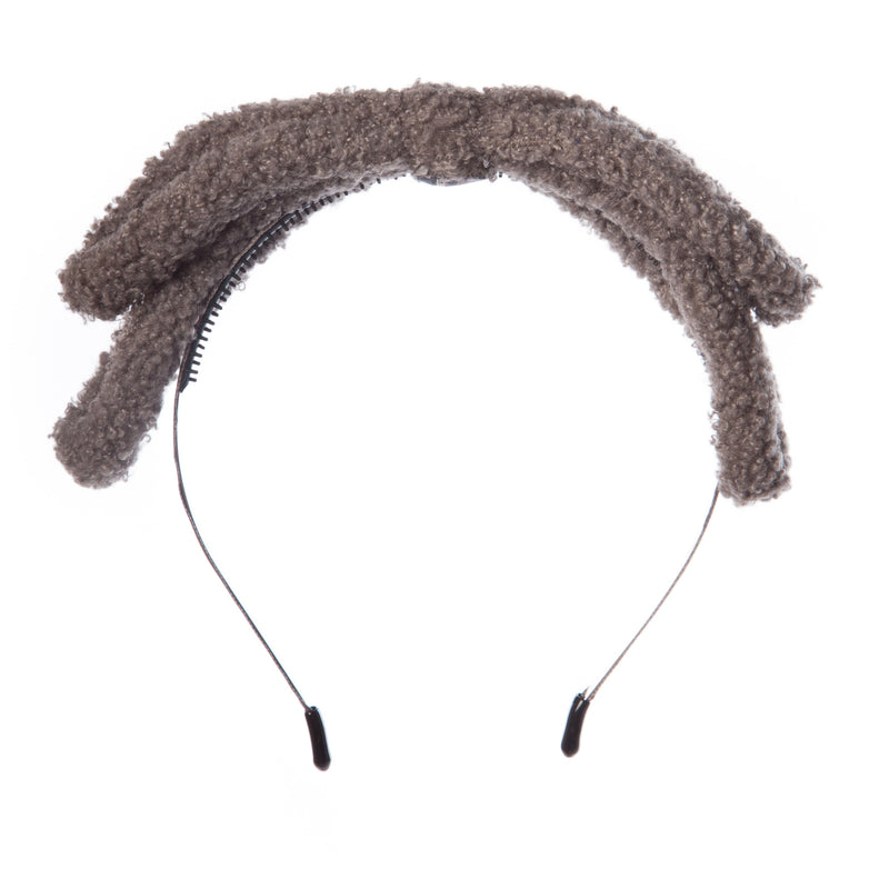 Girls Wool Bow Hairband
