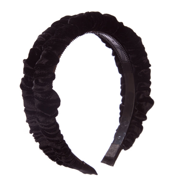 Ruffle Velvet Hairband