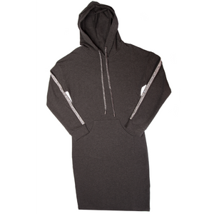 Women's Hoodie Dress with Sequins