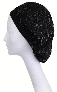 Sequin Snood with Lining
