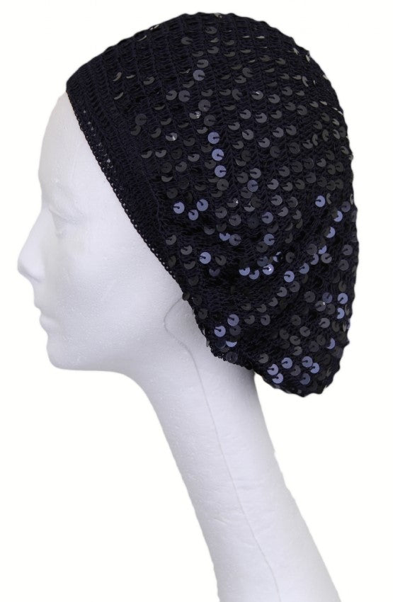 Knitted Snood with Sequins