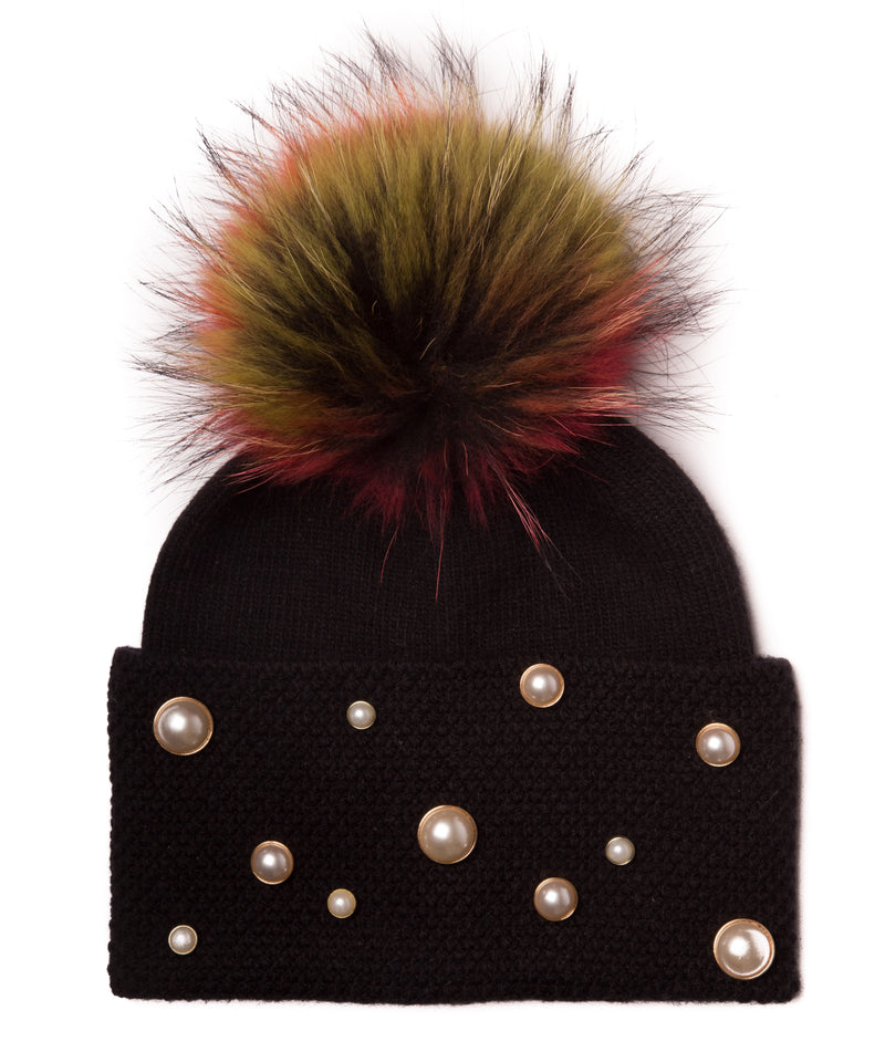 Women's Pompom Winter Hat