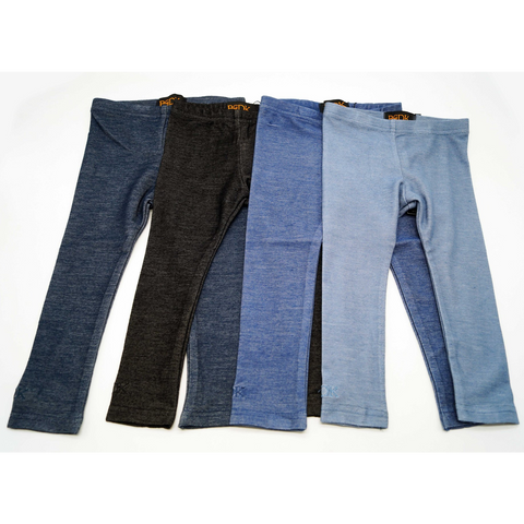 Cotton Leggings - Denims