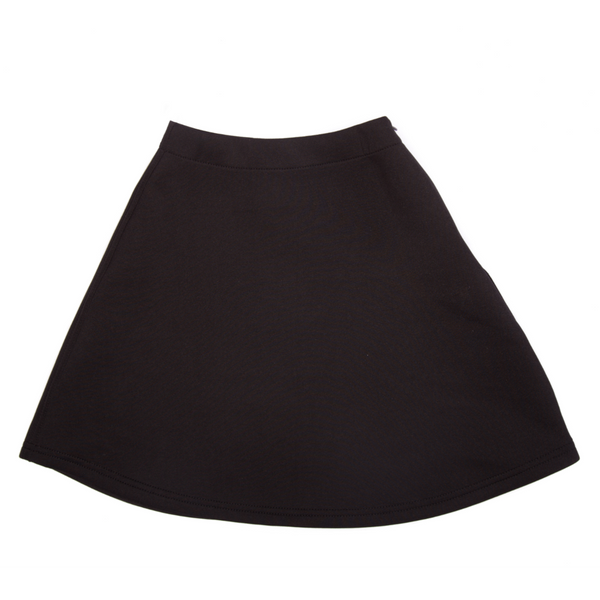 Girls A-Line Scuba Skirt