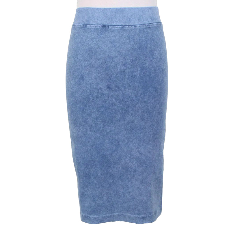 Stonewash Ladies Pencil Skirt