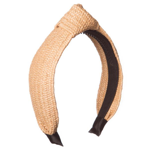 Raffia Knotted Hairband