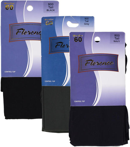 Womens Microfiber Opaque Tights