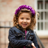 kids hair accessories hairbands hair clips bows in colours styles and designs