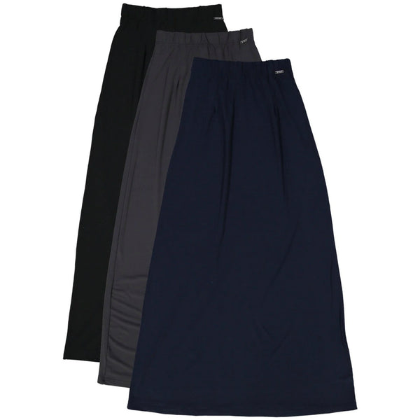 Ladies Straight Slinky Skirt