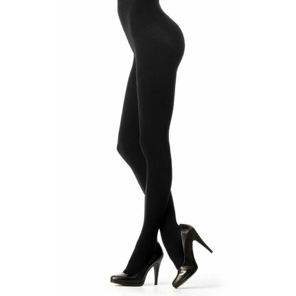 Opaque Control Top Tights - 2 Pack