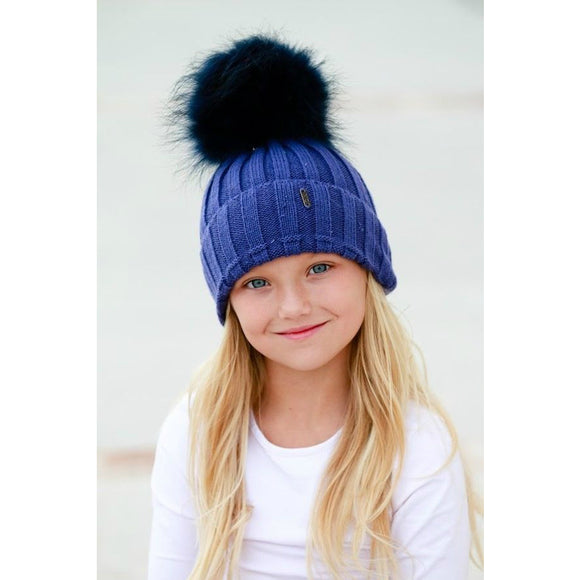 Kids & Teens Winter Pom Pom Hat