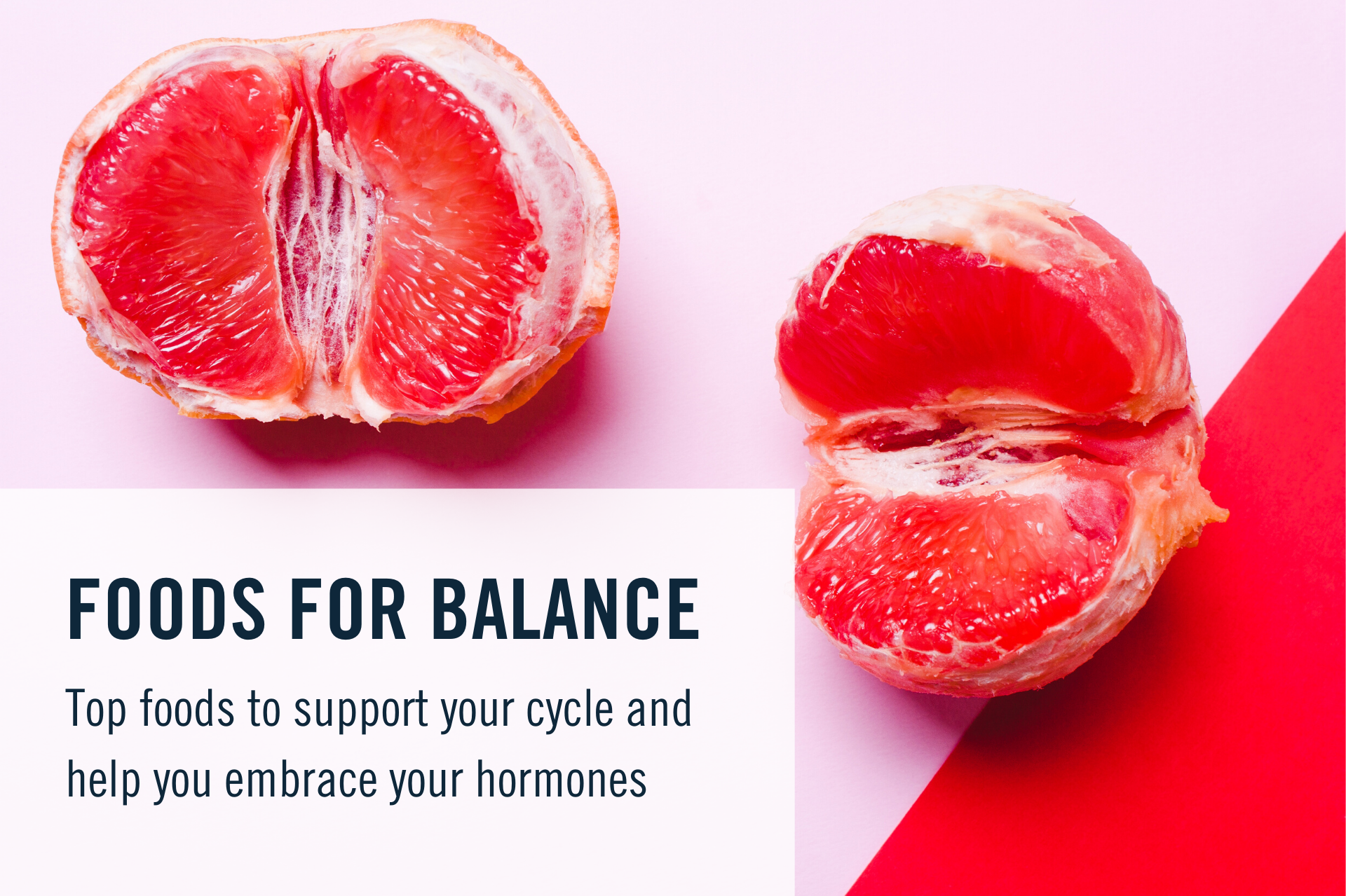 Top foods to support your cycle and help you embrace your hormones