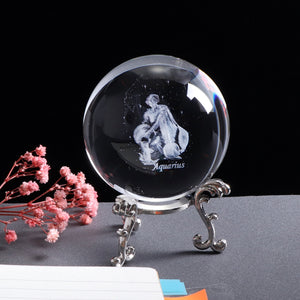 Aquarius Crystal Globe