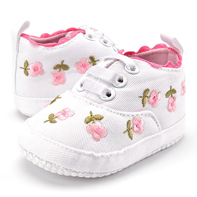 Floral Embroidered Shoes