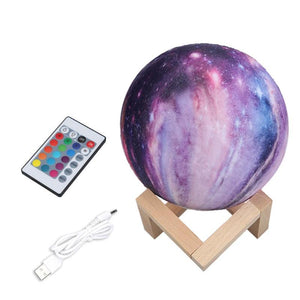 16 Color Moon Lamp