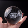 Crystal Galaxy Globe