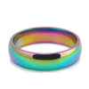 Rainbow Titanium Steel Ring