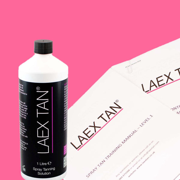 LAEX TAN Accredited Spray Tan Course GLASGOW