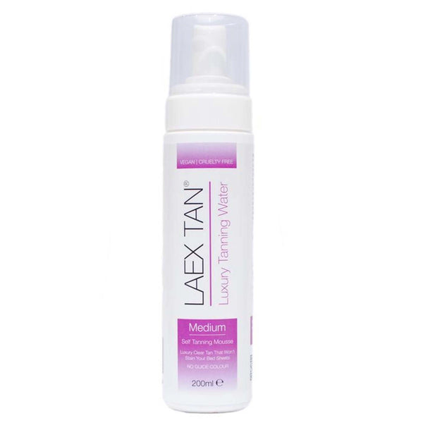 laex tan luxury tanning water medium