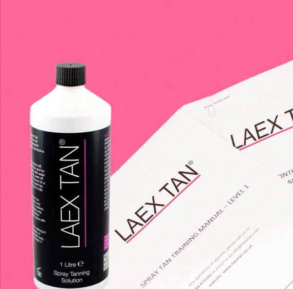 laex tan spray tan training stockport