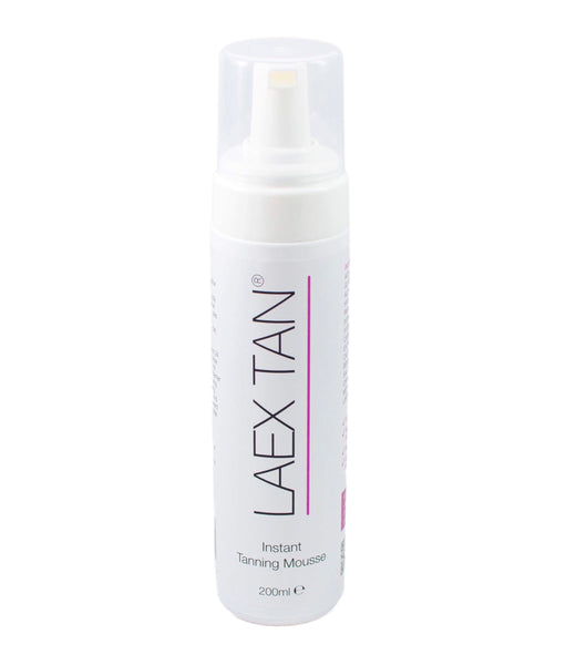 laex tan instant tanning mousse 200ml