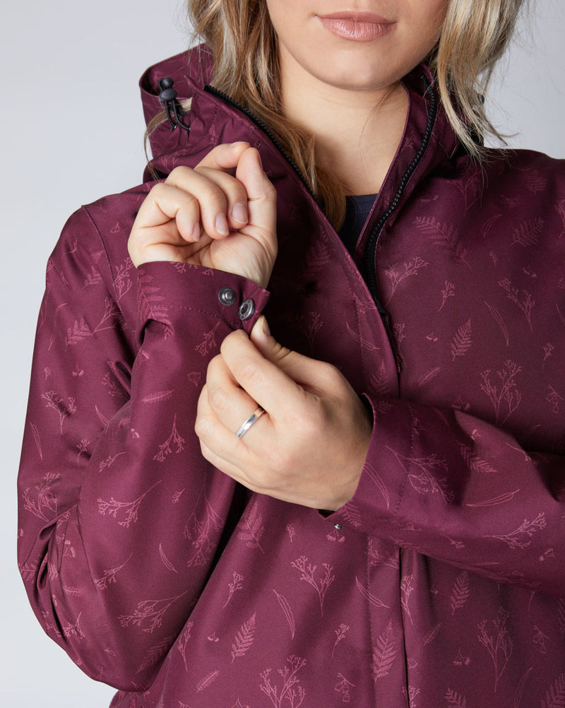 Elements Waterproof Jacket - Botanical