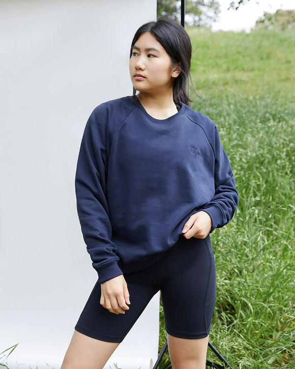 Organic Jumper - Navy