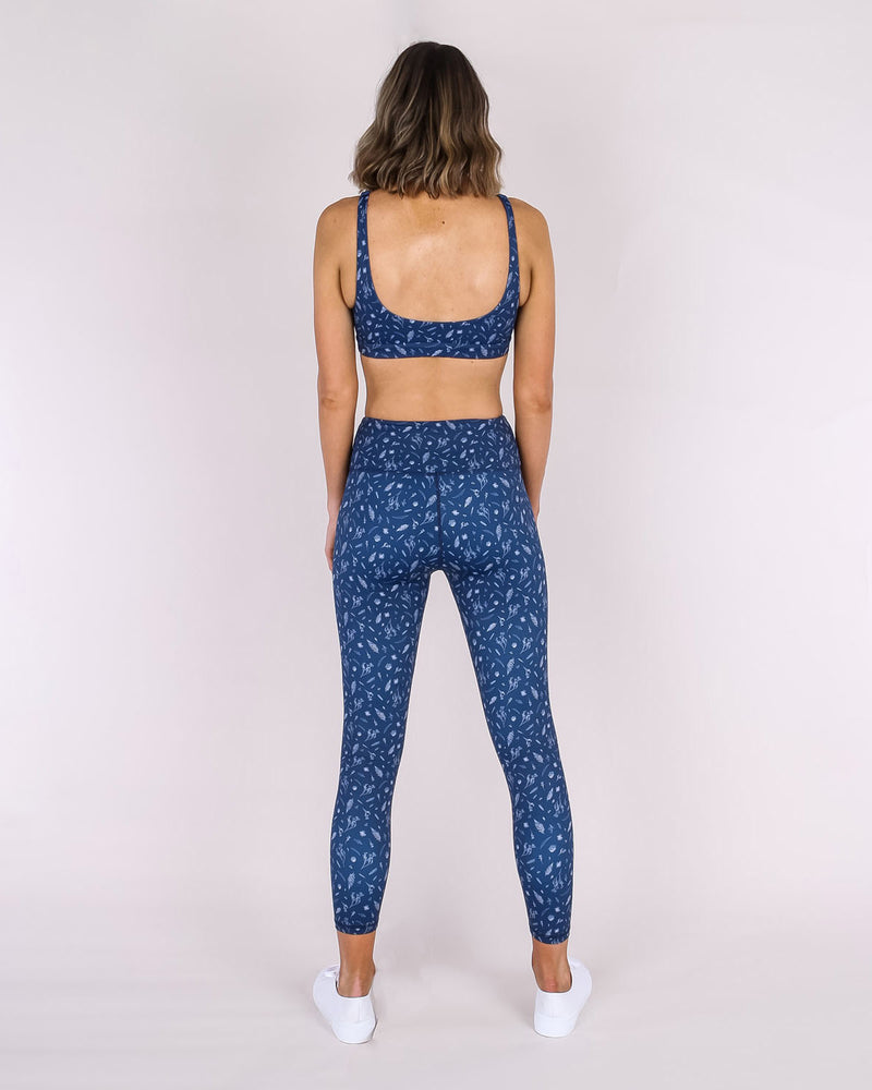 7/8 Legging - Botanical