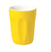 Yellow Latte Cup