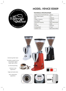 Espresso Doctor VENICE ED009 Electronic Professional Grinder