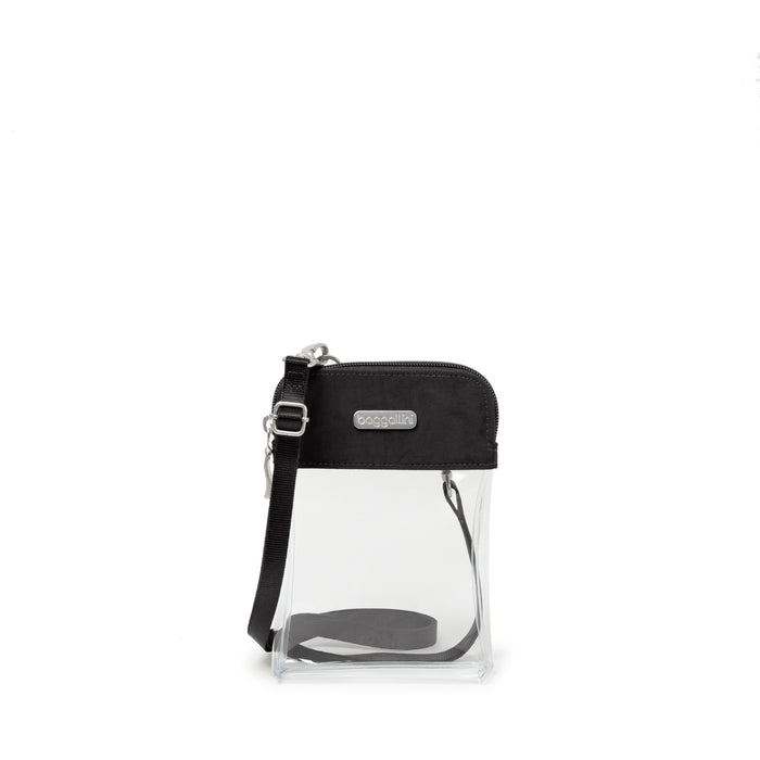 Clear Bryant Bag - Black