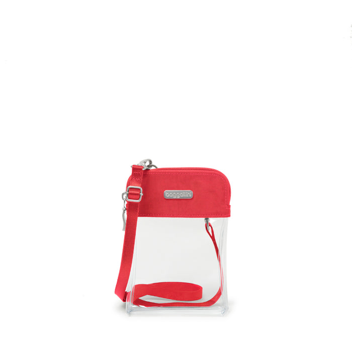 Clear Bryant Bag - Red