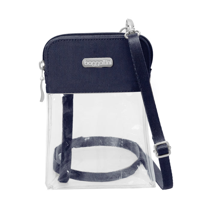 Clear Bryant Bag - Deep Blue