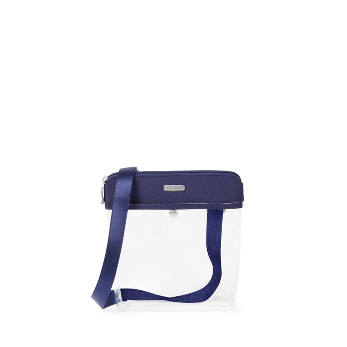 Clear Pocket Bag - Deep Blue