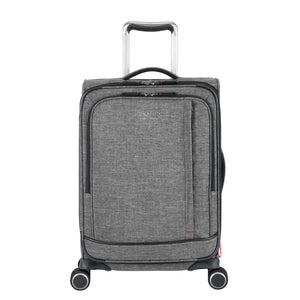 "Mailbu Bay 2.0  20"" Carry on Spinner - Gray"