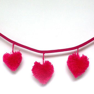 Valentines hangings are simple with Multipom. Our instructions show you how.