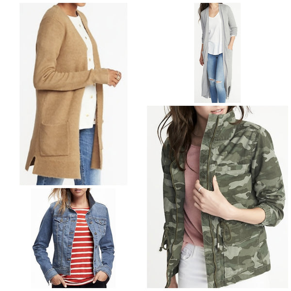 Cardigan and Jacket must have for Fall! (click here to read)