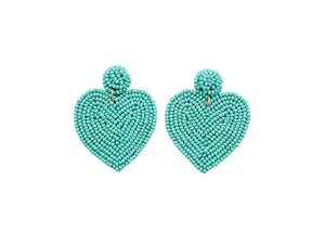 Valentine's Teal Heart