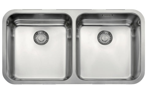 Stainless Steel Sinks: Franke Largo LAX120 36-36 2B Undermount Sink - St/Steel