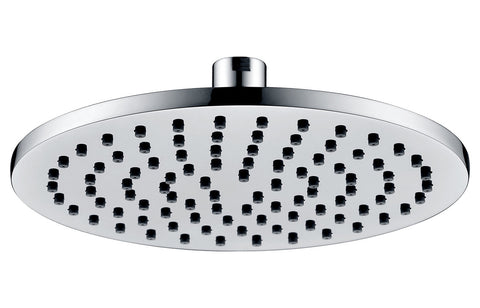 200mm Round ABS Showerhead - Chrome