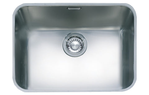 Stainless Steel Sinks: Franke Largo LAX110 50 1B Undermount Sink - St/Steel