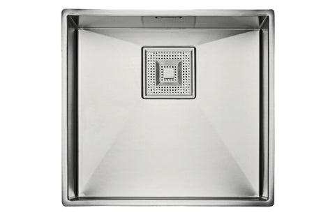Stainless Steel Sinks: Franke Peak PKX110 45 1B Undermount Sink - St/Steel