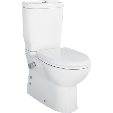 Sedef 60cm Back to Wall Pan with Integrated Bidet