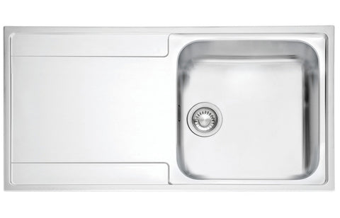 Stainless Steel Sinks: Franke Maris MRX211 1B Inset Sink - St/Steel