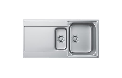 Stainless Steel Sinks: Franke Maris MRX251 1.5B Inset Sink - St/Steel