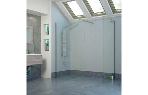 RefleXion 8 Frameless Side Panel For Slide/Wet Room