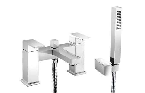 Quadro Bath Shower Mixer With Shower Kit