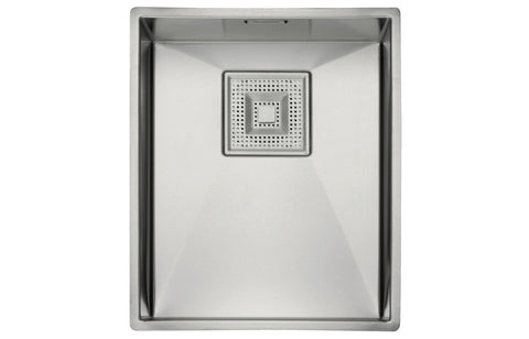 Stainless Steel Sinks: Franke Peak PKX110 34 1B Undermount Sink - St/Steel