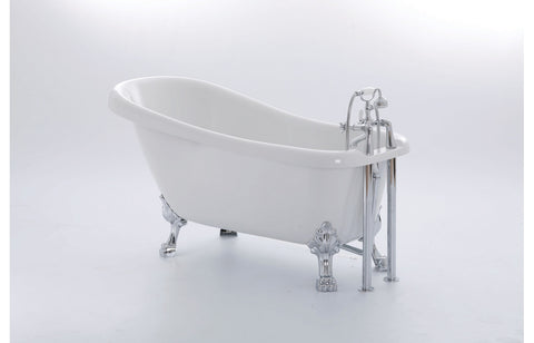Clarendon Freestanding Slipper 1540x710 2TH Bath